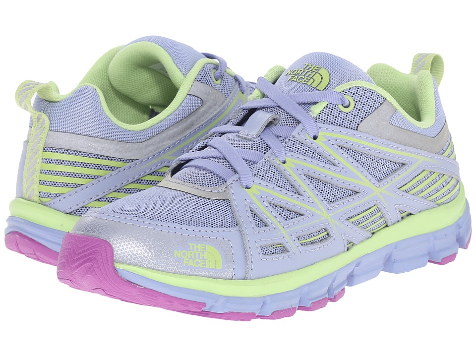 The North Face Kids - Jr Endurance (Little Kid/Big Kid) (Collar Blue/Budding Green) Girls Shoes