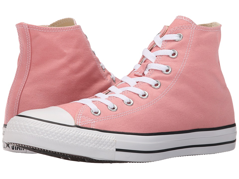 Converse - Chuck Taylor All Star Seasonal Hi (Daybreak Pink/White/Black) Classic Shoes