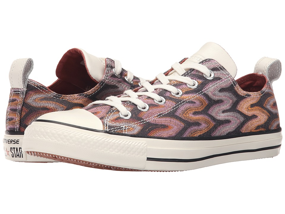 Converse - Chuck Taylor All Star Ox Missoni (Auburn/Egret/Black) Lace up casual Shoes