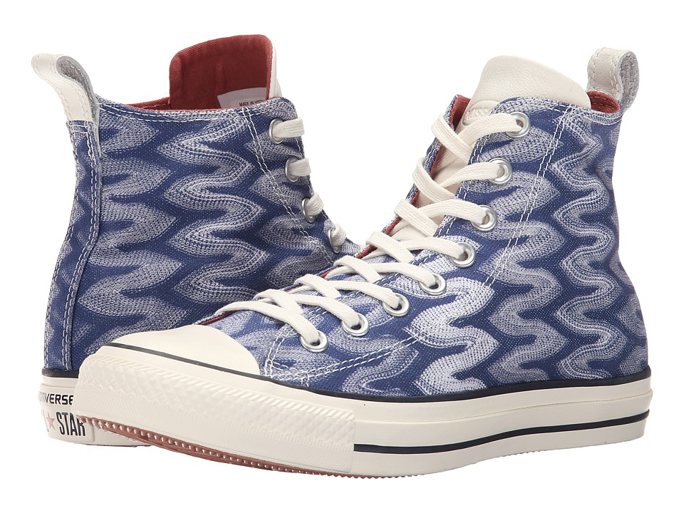 Converse Chuck Taylor All Star Hi Missoni (Egret/Auburn/White) Lace up casual Shoes