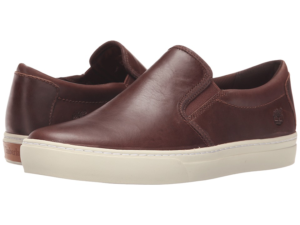 Timberland - Adventure 2.0 Cupsole Slip-On (Dark Brown) Men's Slip on Shoes