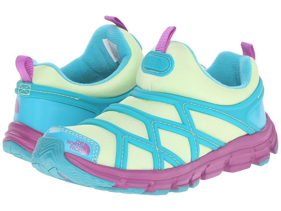 The North Face Kids - Jr Litewave Slip-On (Little Kid/Big Kid) (Budding Green/Bluebird) Girls Shoes