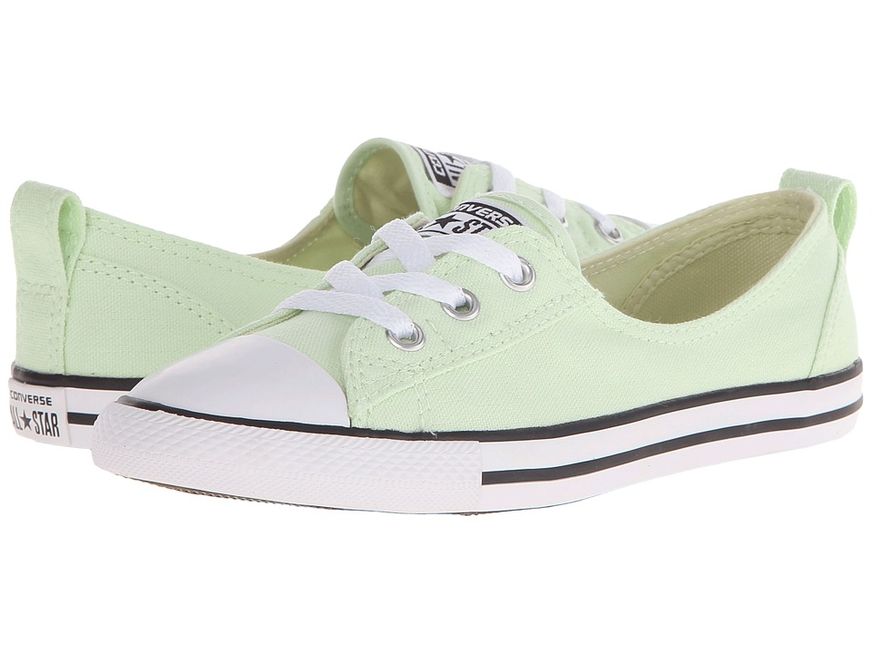 Converse - Chuck Taylor All Star Fashion Basics Ballet Lace (Pistachio Green/Black/White) Women's Lace up casual Shoes