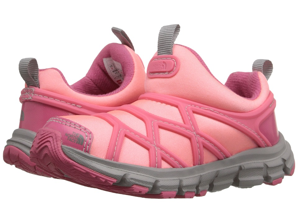 The North Face Kids - Litewave Slip-On(Toddler/Little Kid) (Cha Cha Pink/Neon Pink) Girls Shoes