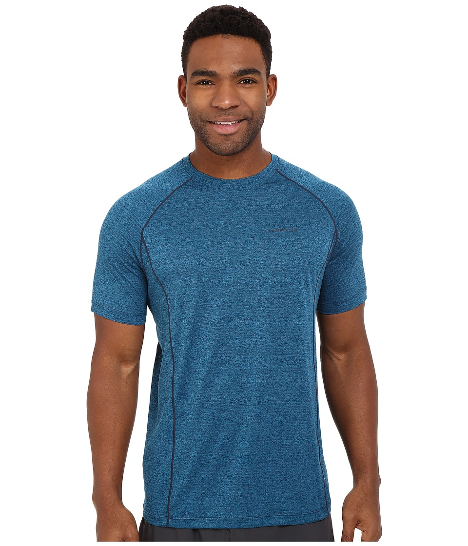 Merrell - Connect Tee (Legion Blue Heather) Men's T Shirt