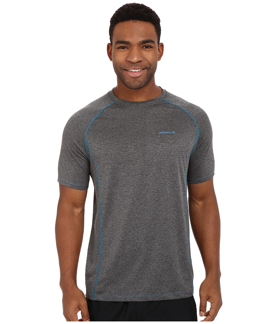 Merrell - Connect Tee (Granite/Celestial) Men's T Shirt