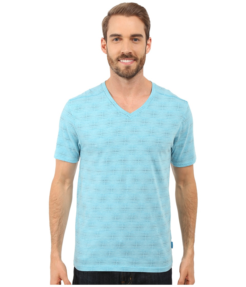 Merrell - Pasco Printed V-Neck Tee (Shoreline Print) Men's T Shirt