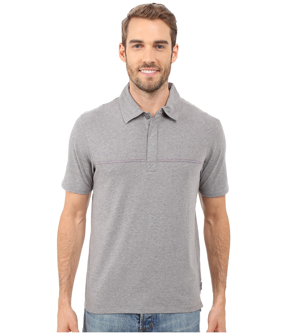 Merrell - Pasco Polo 2.0 (Manganese Heather) Men's Short Sleeve Knit