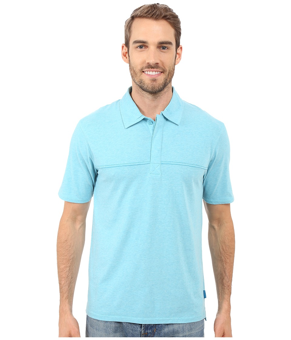 Merrell - Pasco Polo 2.0 (Shoreline Heather) Men's Short Sleeve Knit
