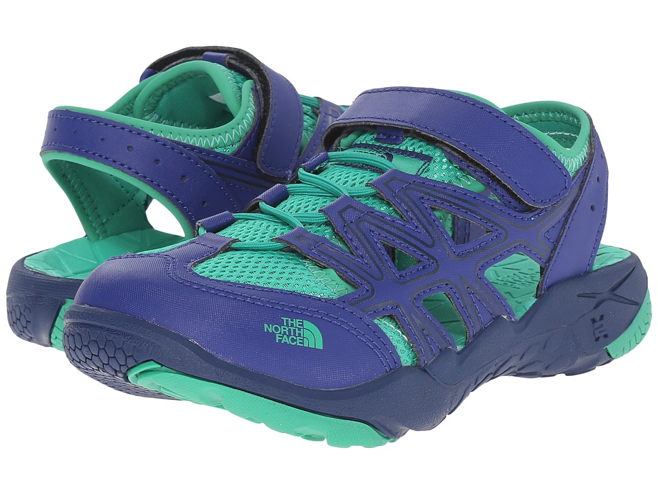 The North Face Kids - Hedgehog Sandal (Toddler/Little Kid/Big Kid) (Marker Blue/Blarney Green) Boys Shoes