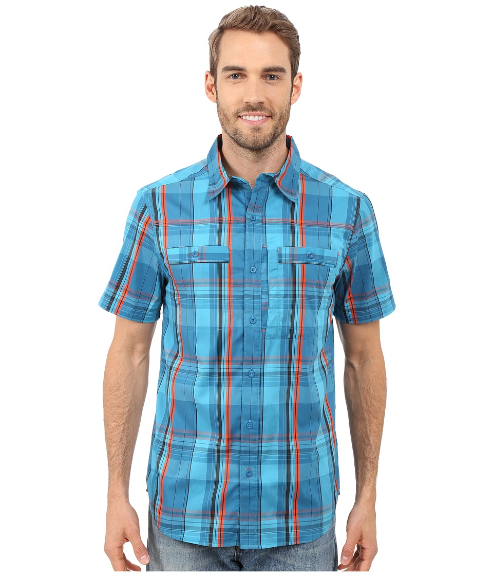 Merrell - Greenway Travel Shirt (Celestial) Men's Short Sleeve Button Up