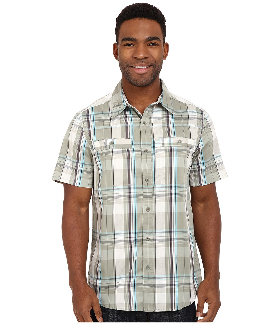 Merrell - Greenway Travel Shirt (Seagrass) Men's Short Sleeve Button Up