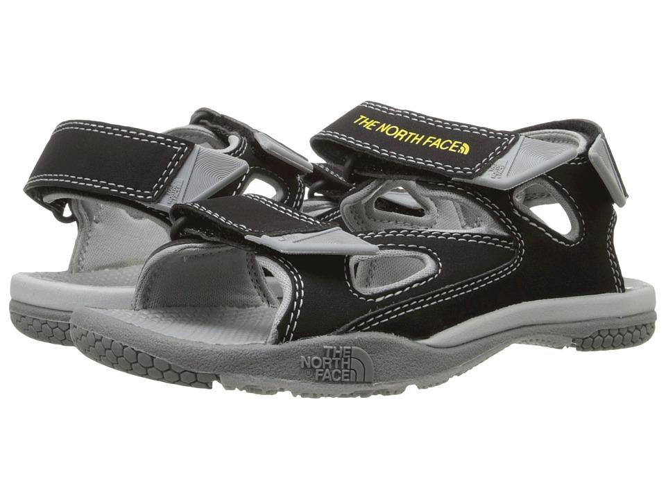 The North Face Kids - Jr Base Camp Coast Ridge (Toddler/Little Kid/Big Kid) (TNF Black/High Rise Grey) Boys Shoes