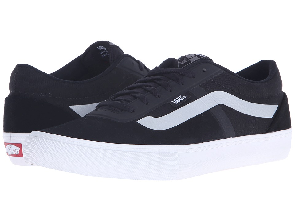 Vans - AV Rapidweld Pro Lite (Black/Silver) Men's Lace up casual Shoes