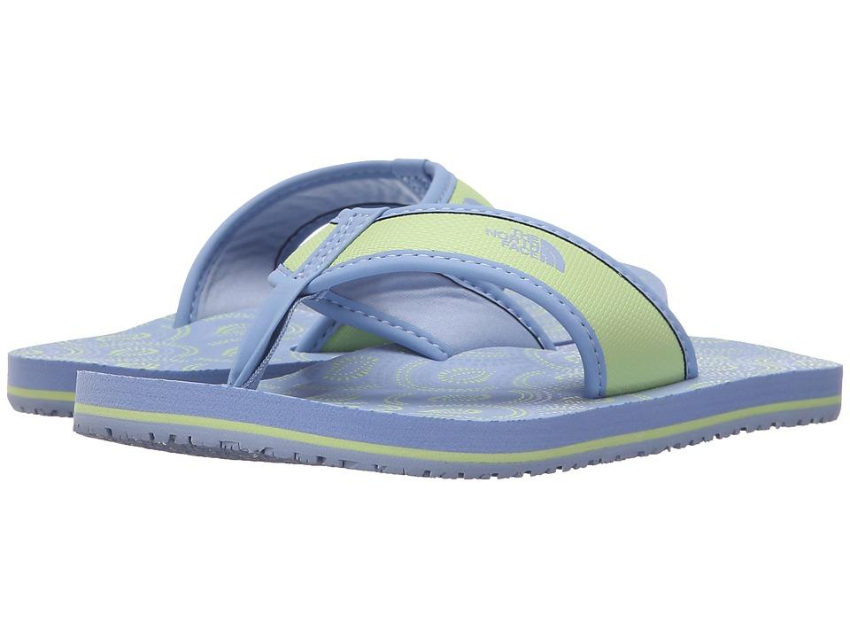 The North Face Kids - Base Camp Flip-Flop (Toddler/Little Kid/Big Kid) (Brunnera Blue/Budding Green) Girls Shoes