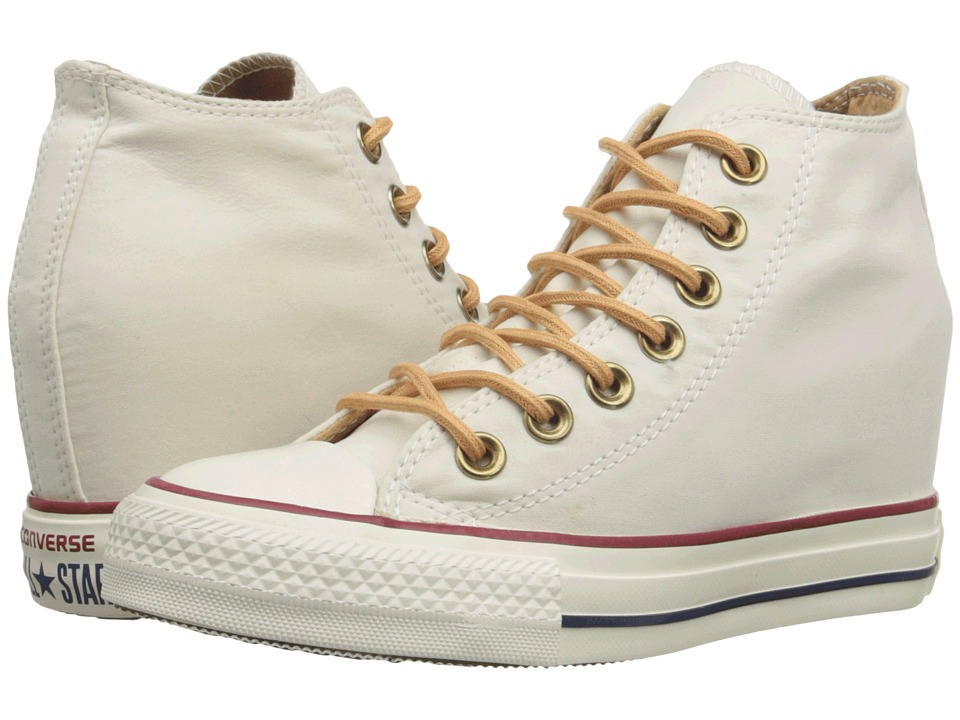 Converse - Chuck Taylor All Star Lux Mid (Parchment/Biscuit/Egret) Women's Shoes