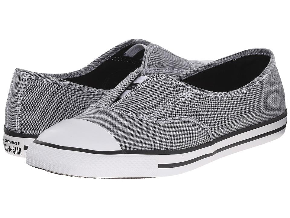 Converse - Chuck Taylor All Star Slip Cove (Black/Black/White) Women's Shoes