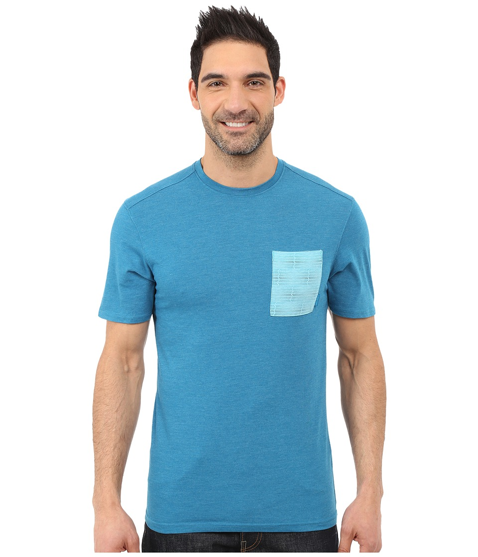 Merrell Pasco Printed Pocket Crew Tee (Celestial Heather) Men