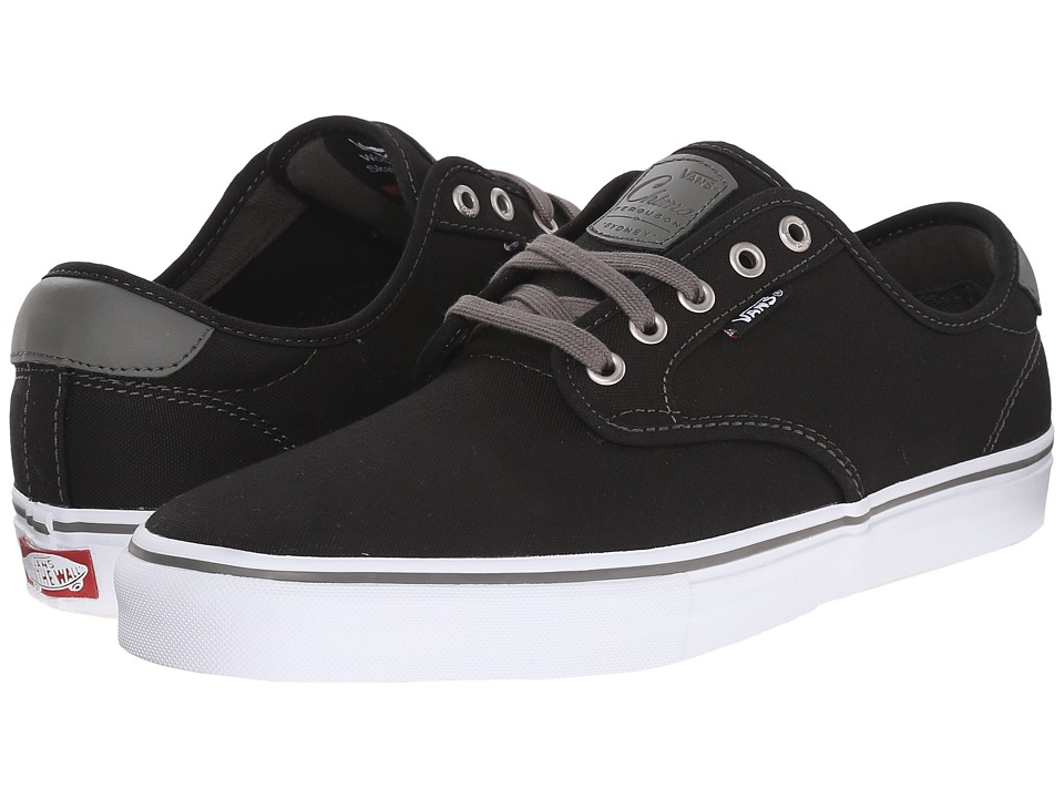 Vans - Chima Pro (Black/Charcoal/White) Men's Skate Shoes