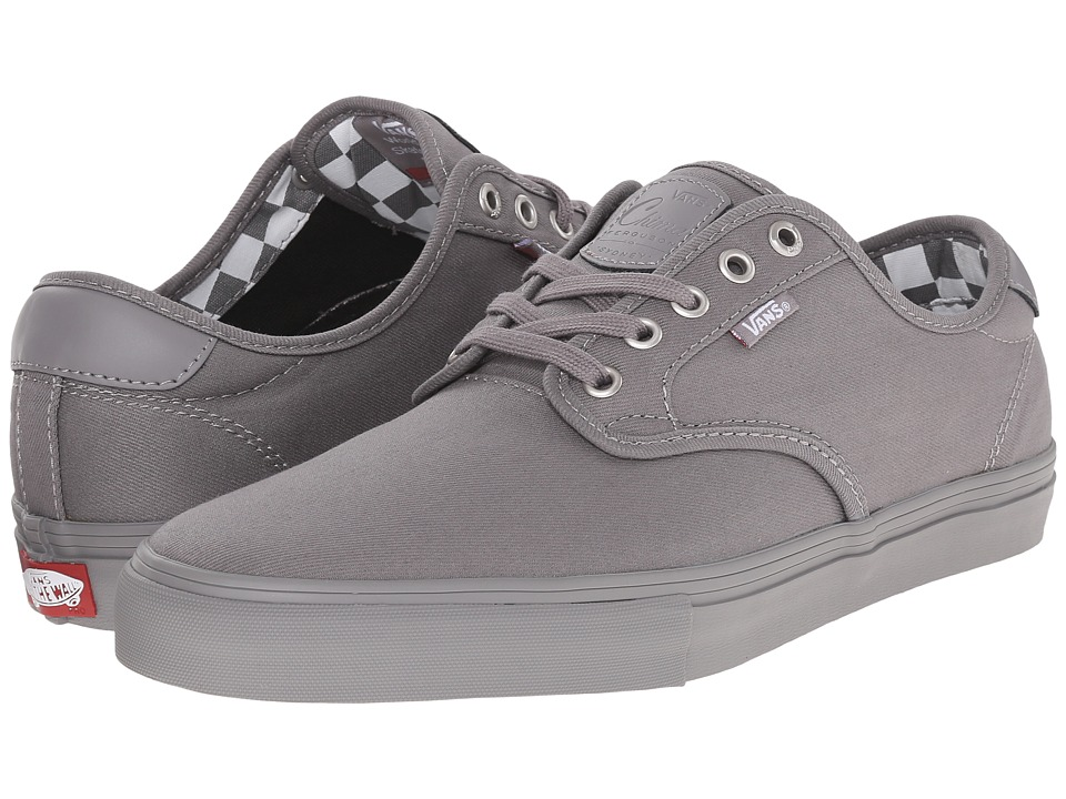 Vans - Chima Pro ((Mono) Titanium) Men's Skate Shoes