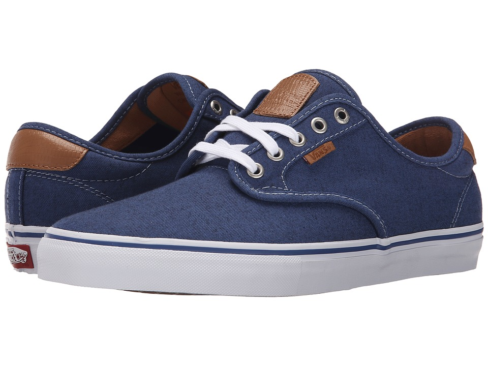 Vans - Chima Pro ((Oxford) Blue) Men's Skate Shoes