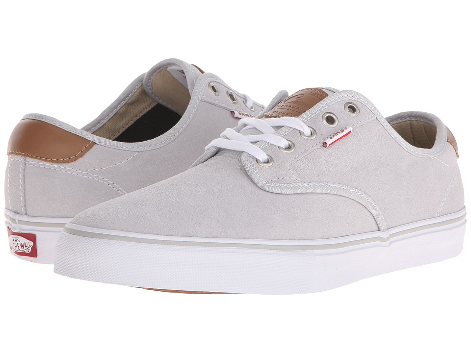 Vans - Chima Pro (Light Grey/White) Men's Skate Shoes