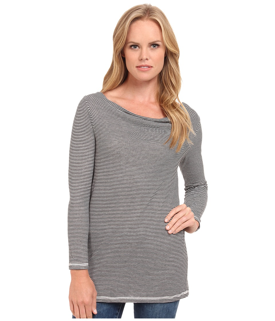 Three Dots - 3/4 Sleeve Cowl Tunic (Gardenia) Women's Clothing