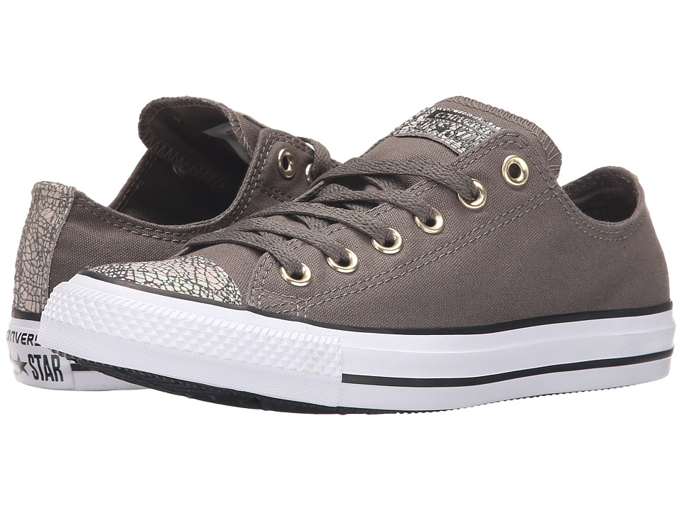 Converse - Chuck Taylor All Star Oil Slick Ox (Charcoal/White/Black) Women's Lace up casual Shoes
