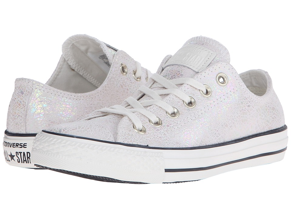 Converse - Chuck Taylor All Star Oil Slick Ox (Egret/Black/Egret) Women's Lace up casual Shoes