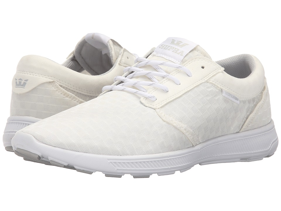 Supra - Hammer Run (White/White 2) Men's Skate Shoes