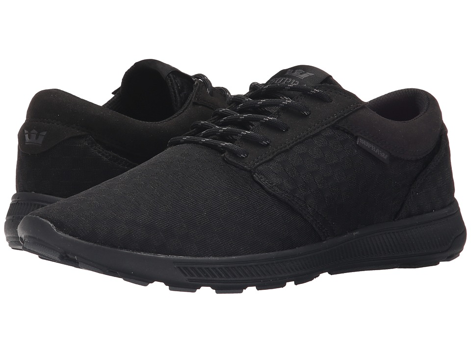 Supra - Hammer Run (Black/Black/Black 2) Men's Skate Shoes