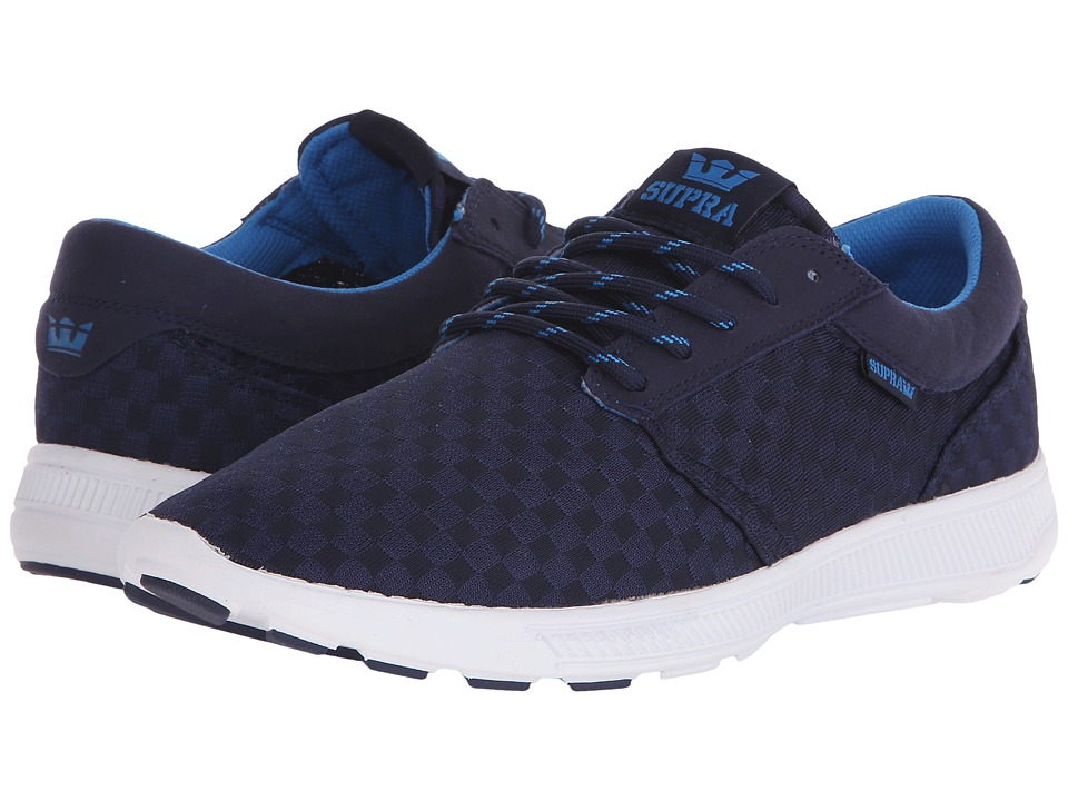Supra - Hammer Run (Navy/White) Men's Skate Shoes