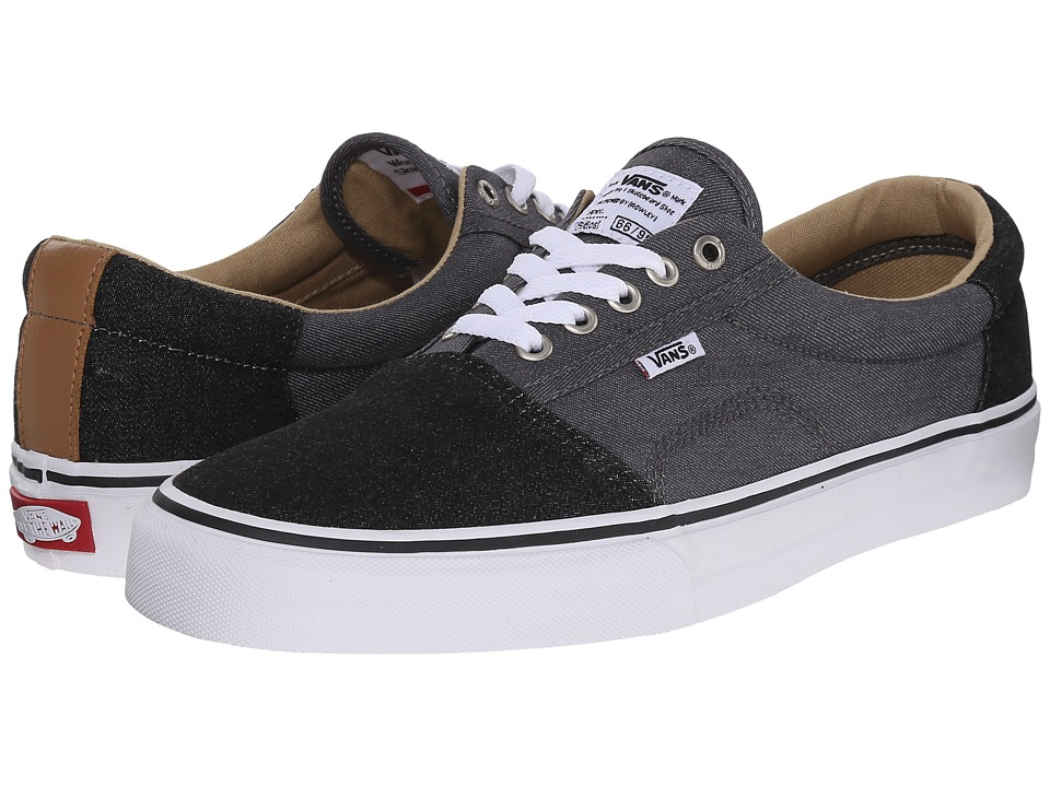 Vans - Rowley [Solos] ((Two-Tone) Black/Pewter) Men's Skate Shoes