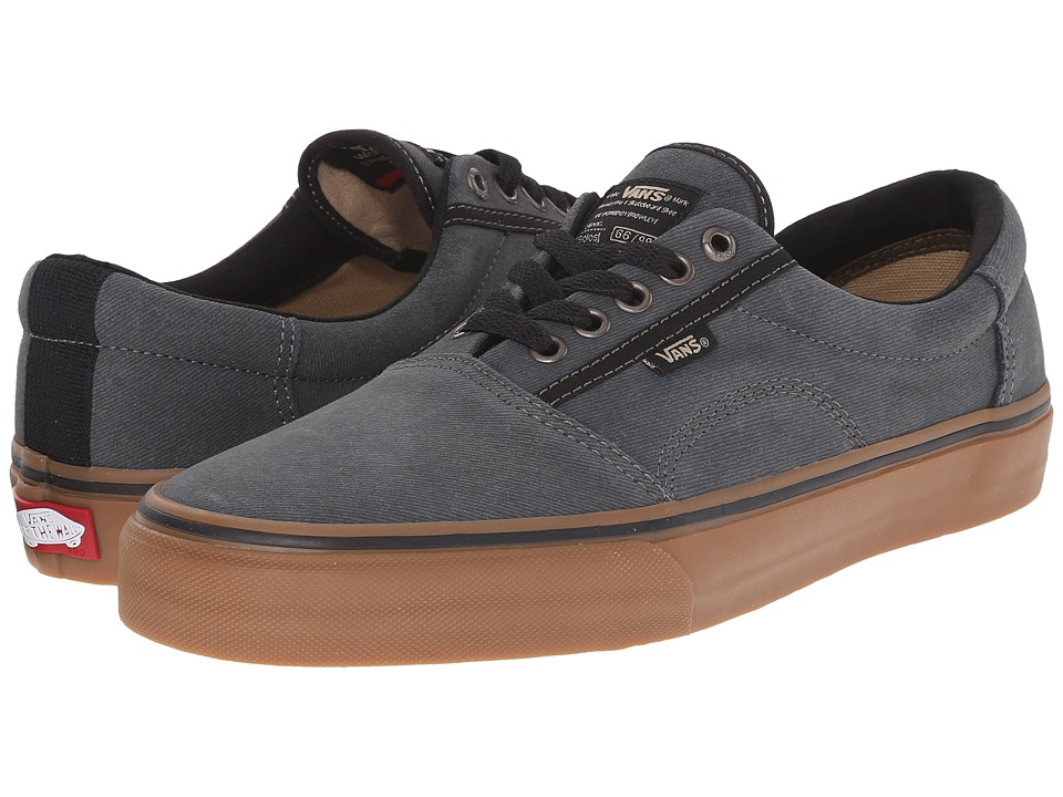 Vans - Rowley [Solos] ((Xtuff) Black/Gum) Men's Skate Shoes