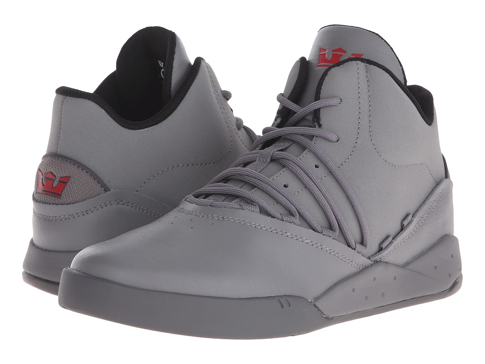 Supra - Estaban (Charcoal/Charcoal) Men's Skate Shoes