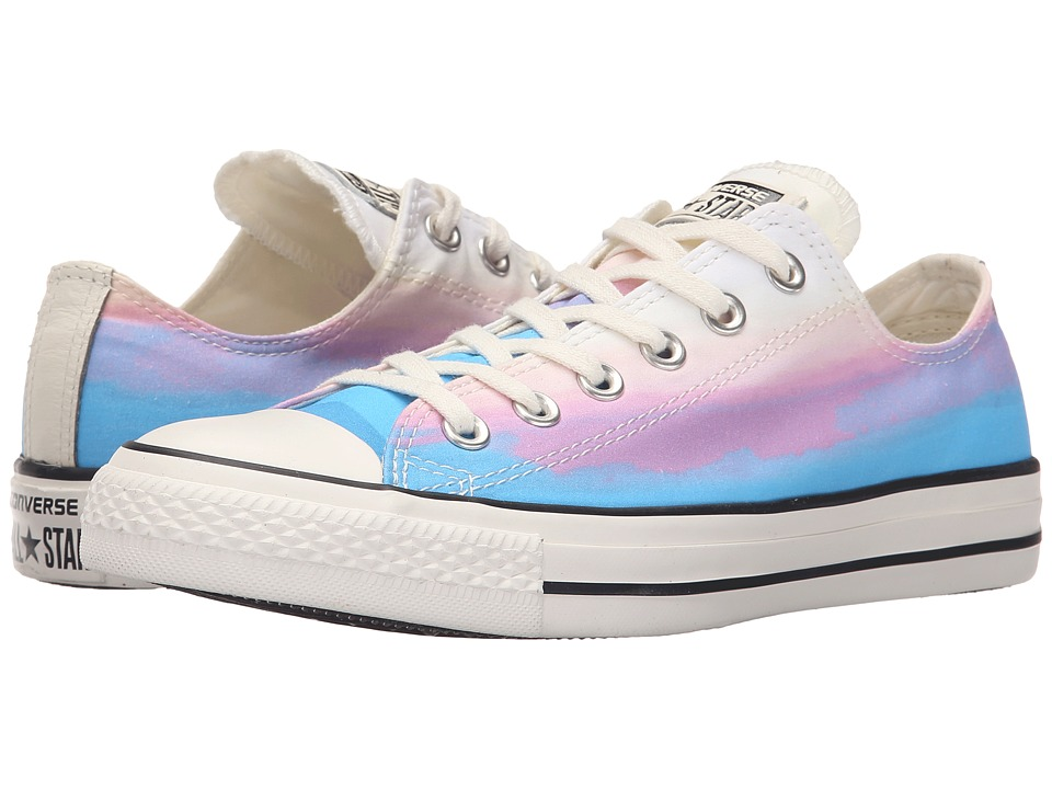 Converse - Chuck Taylor All Star Sunset Ox (Daybreak Pink/Motel Pool/Egret) Women's Lace up casual Shoes