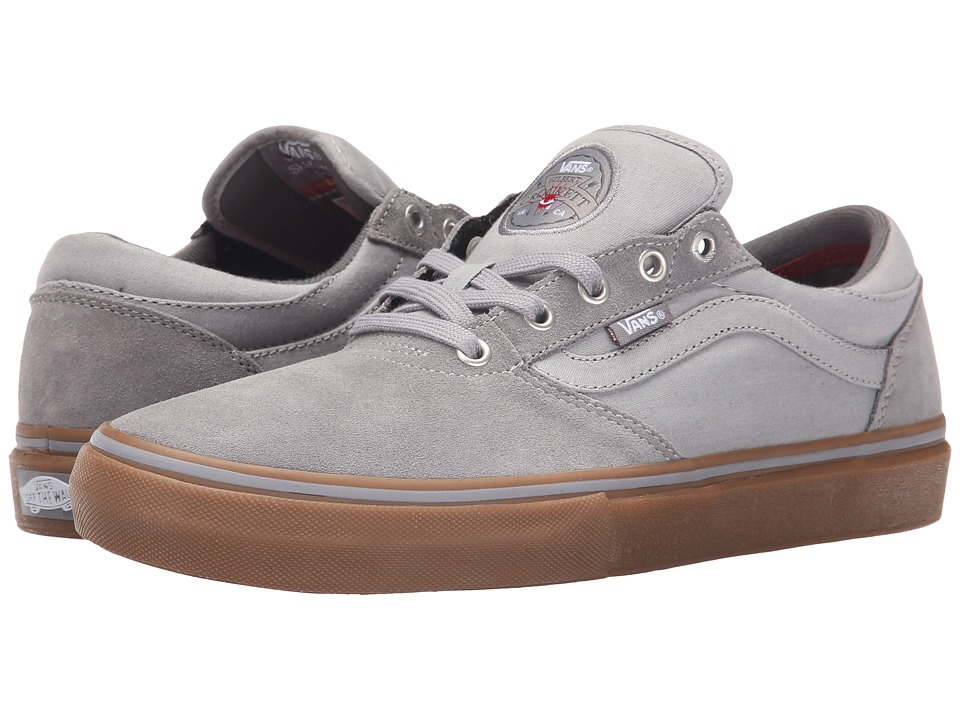 Vans - Gilbert Crockett Pro ((Chambray) Grey/Gum) Men's Skate Shoes