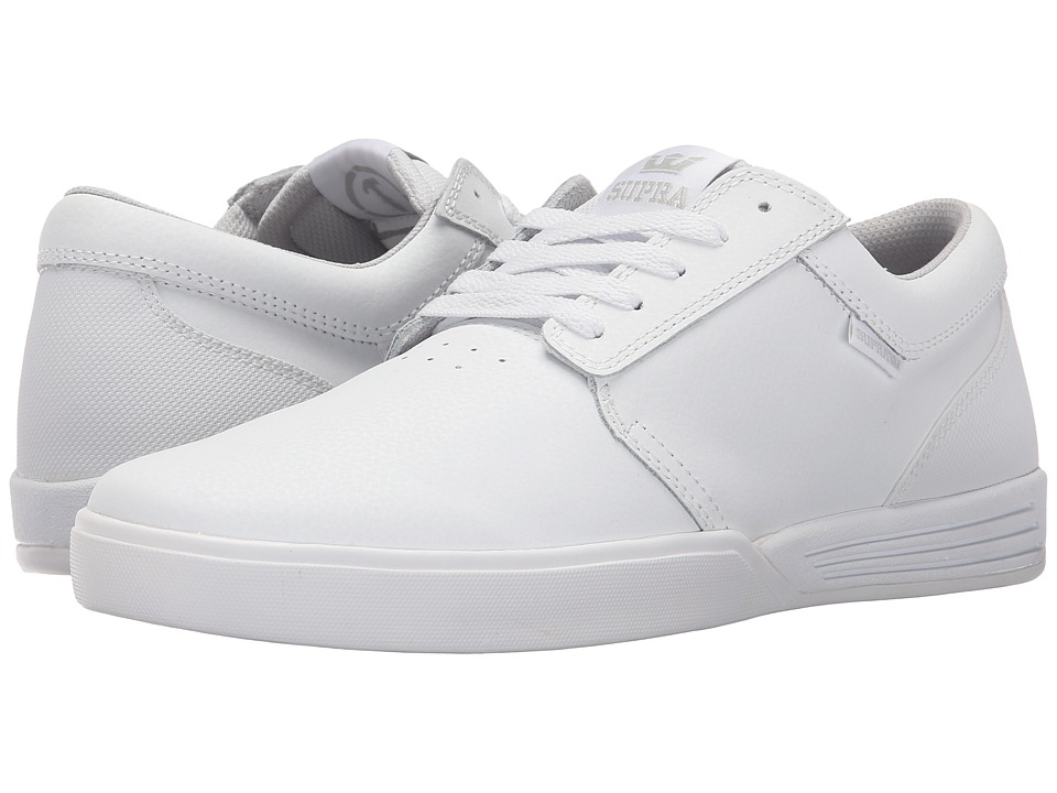 Supra - Hammer (White/White) Men's Skate Shoes