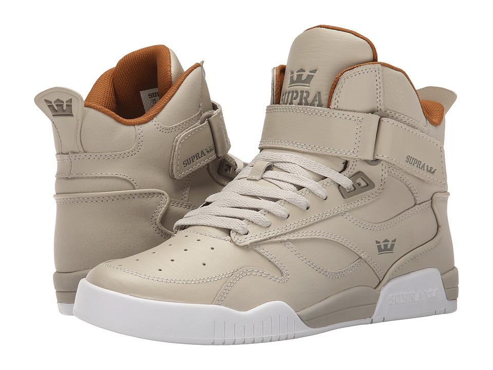 Supra - Bleeker (Tan/Khaki/White) Men's Skate Shoes