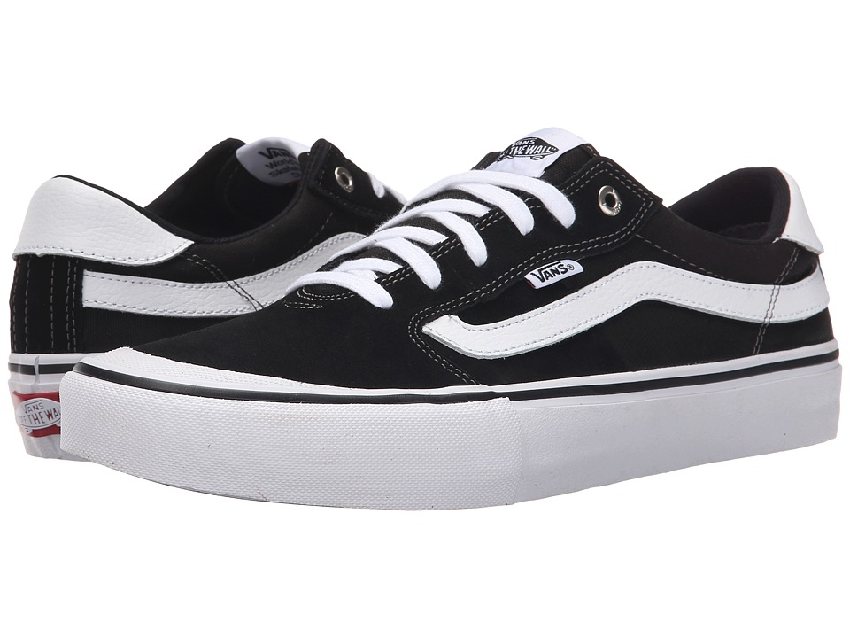 Vans - Style 112 Pro (Black/White) Men's Skate Shoes