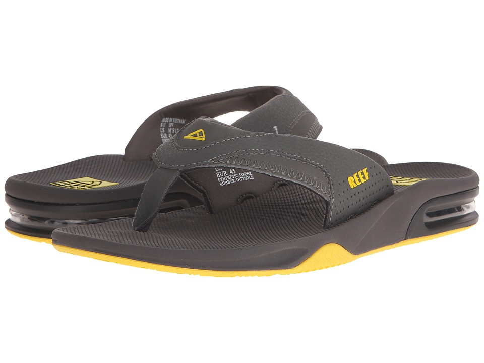 Reef - Fanning (Grey/Yellow) Men