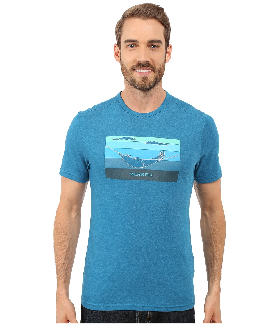 Merrell - Hammock Graphic Tee (Celestial Heather) Men's T Shirt