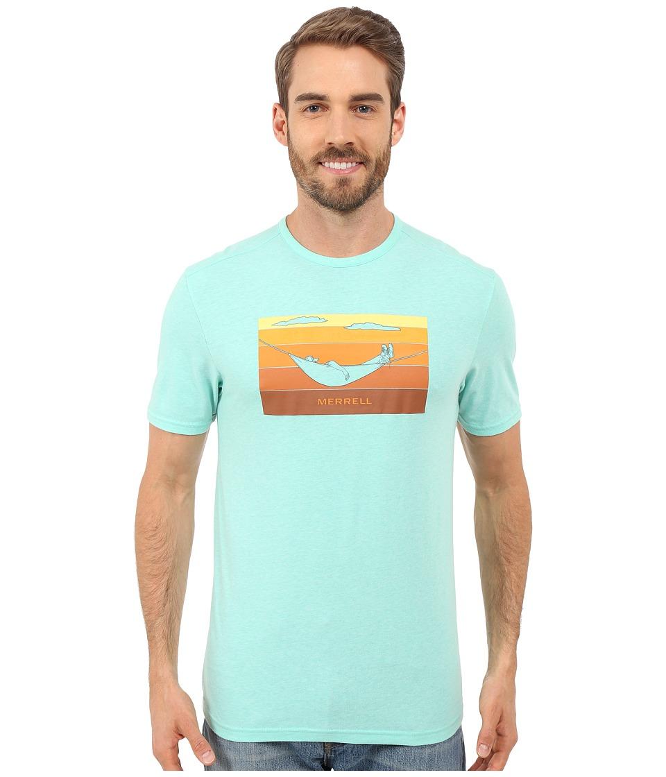Merrell - Hammock Graphic Tee (Cockatoo Heather) Men's T Shirt