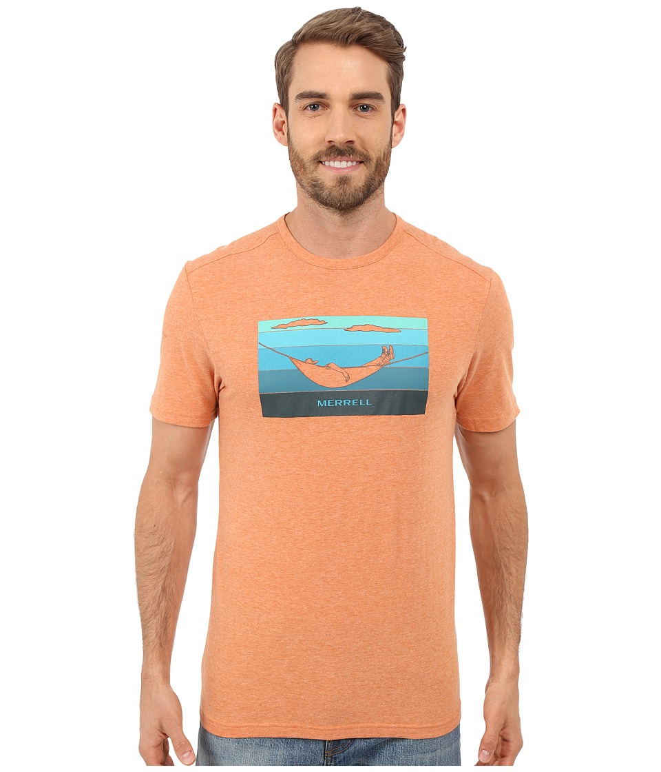 Merrell - Hammock Graphic Tee (Burnt Orange Heather) Men's T Shirt