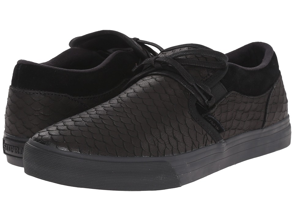 Supra - Cuba (Black/Black/Black) Men's Skate Shoes