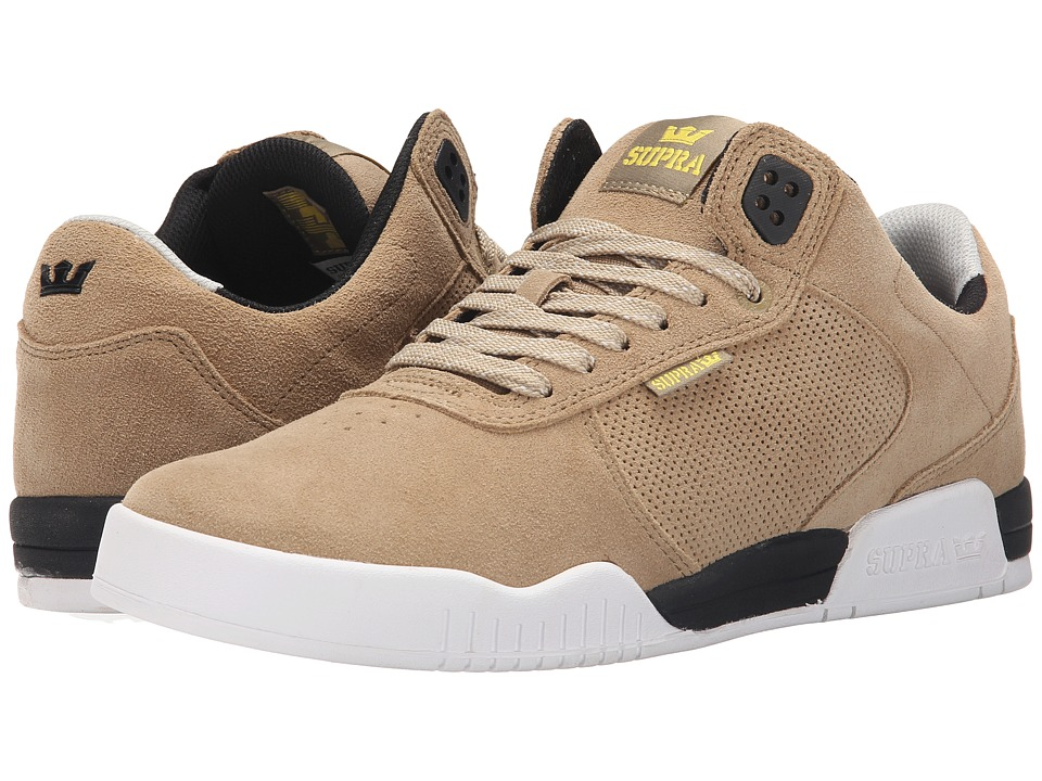 Supra - Ellington (Khaki/Black/White) Men's Shoes