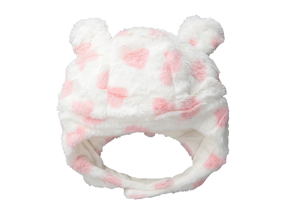 Pumpkin Patch Kids - Dance Academy Fluffy Hat w/ Ears (Infant/Toddler/Little Kids/Big Kids) (Vanilla) Cold Weather Hats