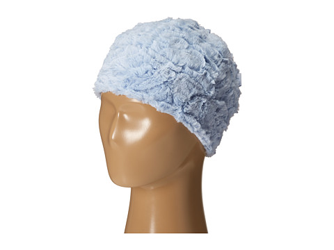 Pumpkin Patch Kids - Urban Folk Fluffy Swirls Hat (Infant/Toddler/Little Kids/Big Kids) (Dream Blue) Cold Weather Hats
