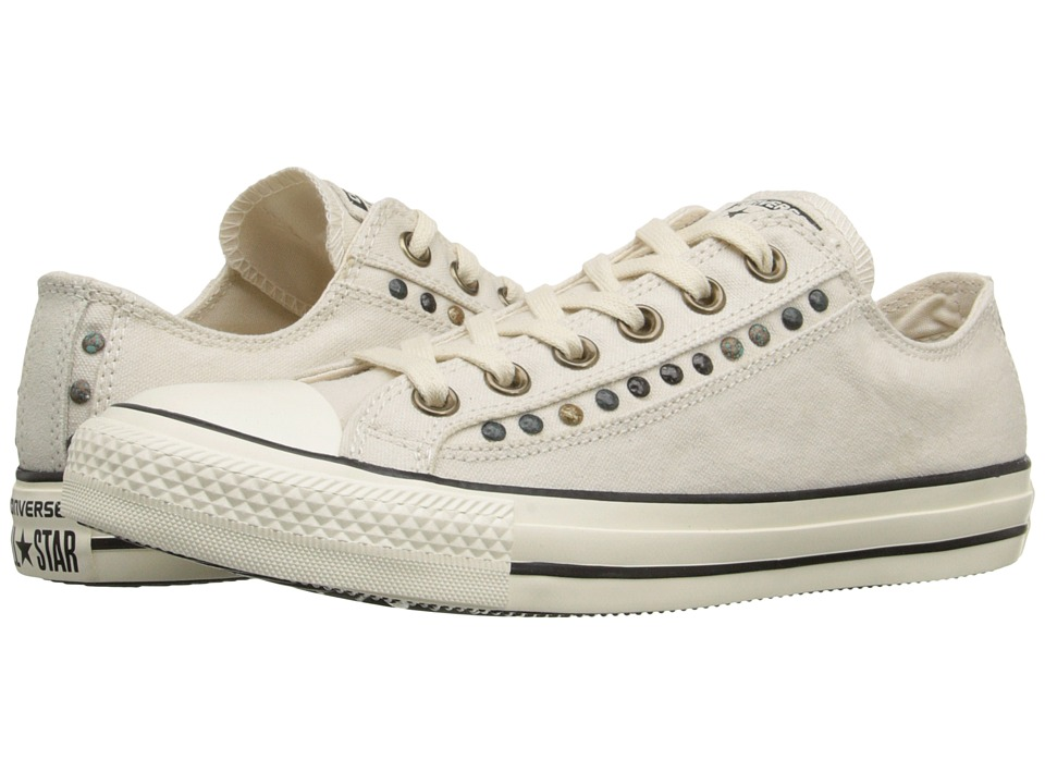 Converse Chuck Taylor All Star Eyerow Cutout Ox (Parchment/Egret/Black) Women