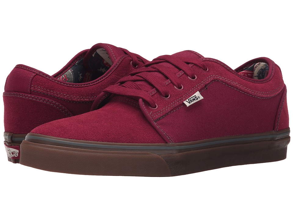 Vans - Chukka Low ((Labels) Rhubarb/Gum) Men's Skate Shoes